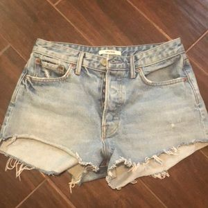 Cindy high rise shorts- brand new, never worn